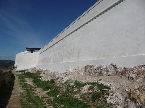 Castillo de San Jorge en Sanlucar de Guadiana