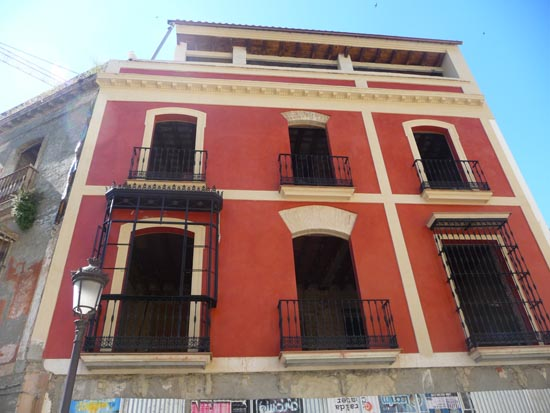 Restauración en fachada